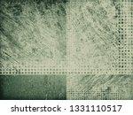 old green texture. vintage... | Shutterstock . vector #1331110517