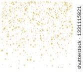 Gold Glitter Stars Frame Or...