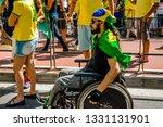 sao paulo  sp  brazil  ... | Shutterstock . vector #1331131901