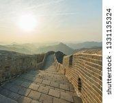 great wall of beijing china   Shutterstock . vector #1331135324