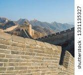 great wall of beijing china    Shutterstock . vector #1331135327