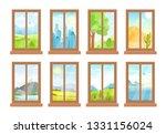 vector illustration of windows... | Shutterstock .eps vector #1331156024