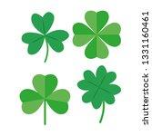 clover icon   vector | Shutterstock .eps vector #1331160461