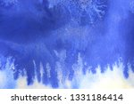 abstract hand painted blue... | Shutterstock . vector #1331186414