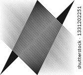 abstract halftone lines...   Shutterstock .eps vector #1331202251