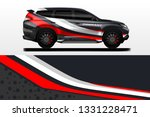 car decal wrap vector designs.... | Shutterstock .eps vector #1331228471