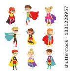 vector illustration of super... | Shutterstock .eps vector #1331228957