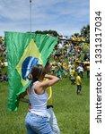 brasilia  df  brazil   april  4 ... | Shutterstock . vector #1331317034
