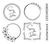 vintage wedding invitation... | Shutterstock .eps vector #1331402804
