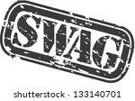 grunge swag rubber stamp ...