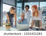 shot of a group of business... | Shutterstock . vector #1331421281