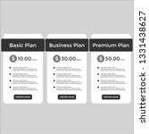 set of pricing table  order ...