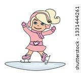 sweet skater   doodle...   Shutterstock .eps vector #1331444261
