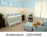 interior of a nursery | Shutterstock . vector #13314460