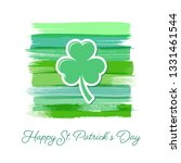 saint patrick day greeting card ... | Shutterstock .eps vector #1331461544