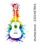 creative rainbow musical... | Shutterstock .eps vector #1331467841