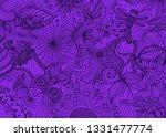 hand drawn doodle backdrop... | Shutterstock .eps vector #1331477774