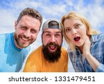 how to impress people. shocking ...   Shutterstock . vector #1331479451