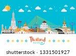 bangkok  thailand with... | Shutterstock .eps vector #1331501927