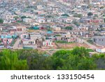 Distant View Of Housing In An...