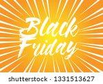black friday  beautiful... | Shutterstock .eps vector #1331513627