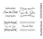wedding invitation template.... | Shutterstock .eps vector #1331531864
