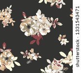 seamless pattern with spring... | Shutterstock .eps vector #1331543471