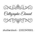 wedding invitation template.... | Shutterstock .eps vector #1331545001