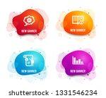 liquid badges. set of cogwheel  ... | Shutterstock .eps vector #1331546234