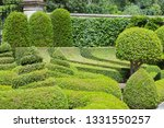 Topiary Garden With Trimmed...