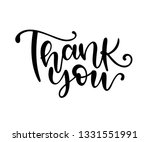 thank you text on white... | Shutterstock .eps vector #1331551991