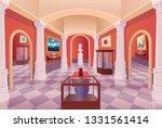 museum art gallery vector...   Shutterstock .eps vector #1331561414