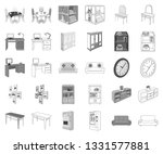furniture and interior... | Shutterstock .eps vector #1331577881