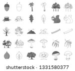 forest and nature monochrome... | Shutterstock .eps vector #1331580377
