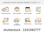 flat line design concept icons...   Shutterstock .eps vector #1331582777