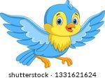 cute cartoon little birds fly   Shutterstock .eps vector #1331621624