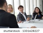 annual sales summary meeting... | Shutterstock . vector #1331628227