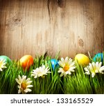 Easter. Colorful Easter Painte...