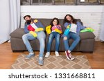 finish cleaning. cleaning all... | Shutterstock . vector #1331668811