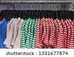 different colorful stripy... | Shutterstock . vector #1331677874
