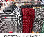clothing stripy sweater set of... | Shutterstock . vector #1331678414