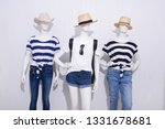 three mannequin in female... | Shutterstock . vector #1331678681