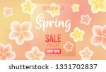 spring background with...   Shutterstock .eps vector #1331702837
