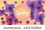 spring background with...   Shutterstock .eps vector #1331702864