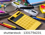 back to school. subjects for... | Shutterstock . vector #1331756231