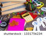back to school. subjects for... | Shutterstock . vector #1331756234