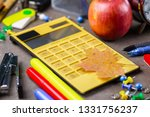 back to school. subjects for... | Shutterstock . vector #1331756237