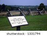 First Manassas Civil War Battlefield