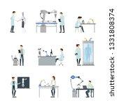 cartoon characters artificial... | Shutterstock . vector #1331808374