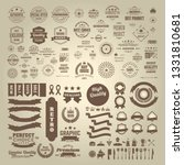 set of premium quality label... | Shutterstock .eps vector #1331810681